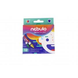 Nebuló zsírkréta háromszög alakú 12 színű