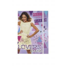 Lizzy Card gumis mappa  A/5 Violetta