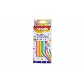 Nebulo Pastel színes ceruza 12db-os