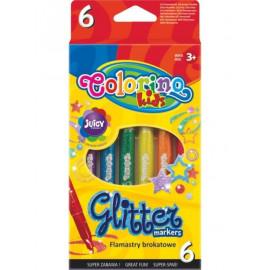 Colorino Glitteres Filctoll 6 db-os