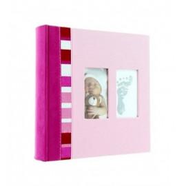Fotóalbum 24x29 cm Baby rózsaszín