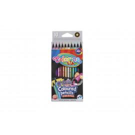 Colorino metallic színes ceruza 10 db-os