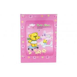 Ante fotóalbum 10x15 cm rózsaszín macis