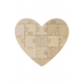 Puzzle fa 190x170x3mm 16részes