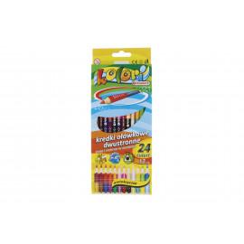Kolori színes ceruza 24 szín 12 db
