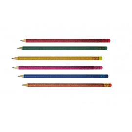 Printker grafit ceruza HB glitteres radíros