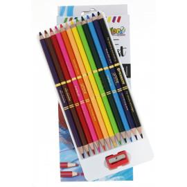 Kolori szinesceruza akvarell 12-es