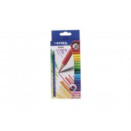 Lyra Osiris hágomszög színes ceruza 12 db