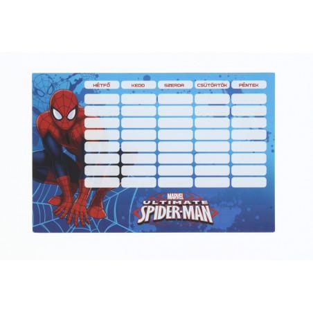 Lizzy Card órarend Spider-Man