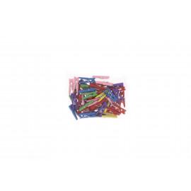 Facsipesz mini 2,5cm színes 50db/cs