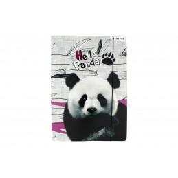 Starpak Gumis mappa A/4 Panda, fehér