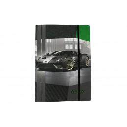 LizzyCard mappa gumis A/4 Ford GT green
