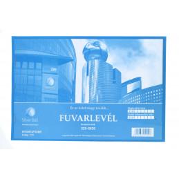 Silver Ball Fuvarlevél 50x3 B.D.17/v