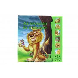 Mesélő könyvek - Az oroszlán és a kisegér