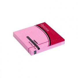 Optima jegyzettömb öntapadós 75x75 neon rózsaszín