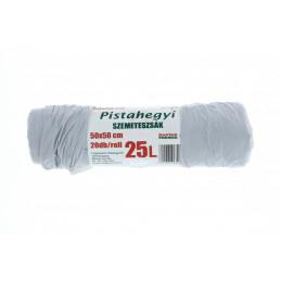 Pistahegyi szemeteszsák 25 l-es