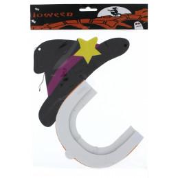 Kicsi lampion, halloween tök kalappal