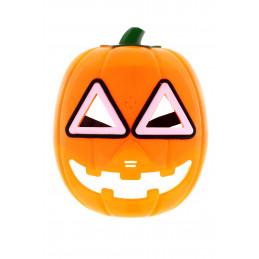 Álarc halloween tökfej műanyag, fény és hangeffektes