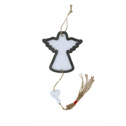 Karácsonyi fa dekoráció, angyalka