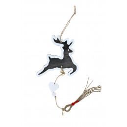 Karácsonyi fa dekoráció, szarvas