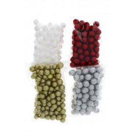 Polisztirol gömb glitteres 14mm