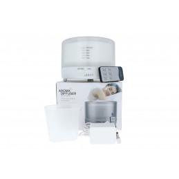 Aroma diffúzor távirányítós, kerek 160x115mm 500ml, fehér