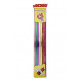 Csomagoló fólia színes, fényes 50cm széles 8 tek./cs
