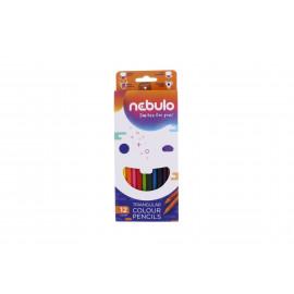 Nebulo háromszög színes ceruza 12 db
