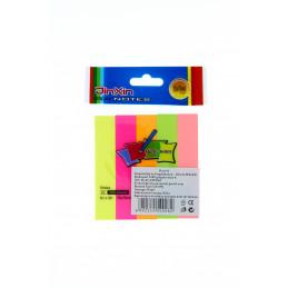 Notesz színes 76x76mm