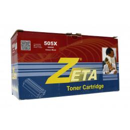 Zeta festékkazetta 505X/CE505X Fekete