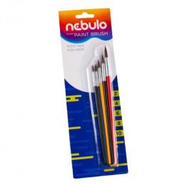 Nebulo festett ecset készlet 5db-os