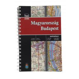 Magyarország Budapest autóatlasz