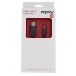Approx USB 2.0/Micro USB kábel 1méter