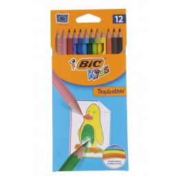Bic kids színesceruza 12db