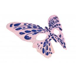 Álarc szem pillangó glitteres