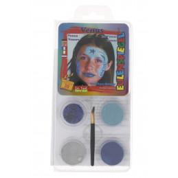 Kreatív arcfesték 4 szín+ecset Vénusz