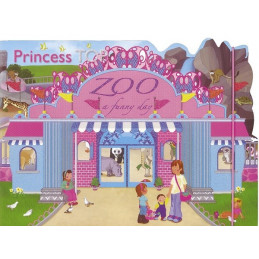 Princess Top - Zoo: a funny day (pink) HU3012-5