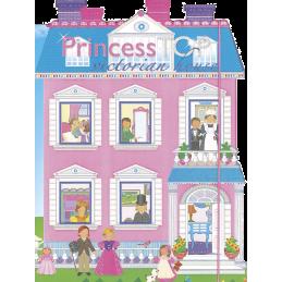 Princess Top -Victorian house (pink) HU 661-6