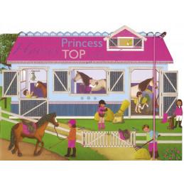 Princess Top - Horses: a funny day (pink) HU3012-1