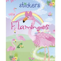 Flamingo stickers matricás...