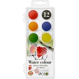 ICO süni kicsi vízfesték 12-es