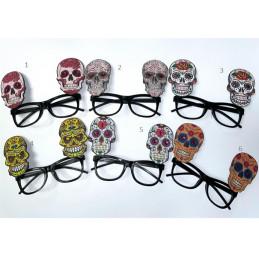 Halloweeni csontvázas szemüveg