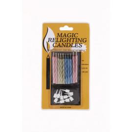 Magic gyertya 10 db-os