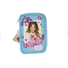 Lizzy Card textil 2 emeletes tolltartó Violetta