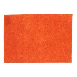 Filclap mintás A/4 narancs flitteres